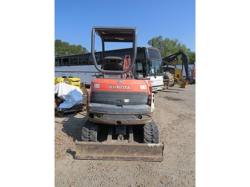 Kubota KX713 Compact Excavator for sale