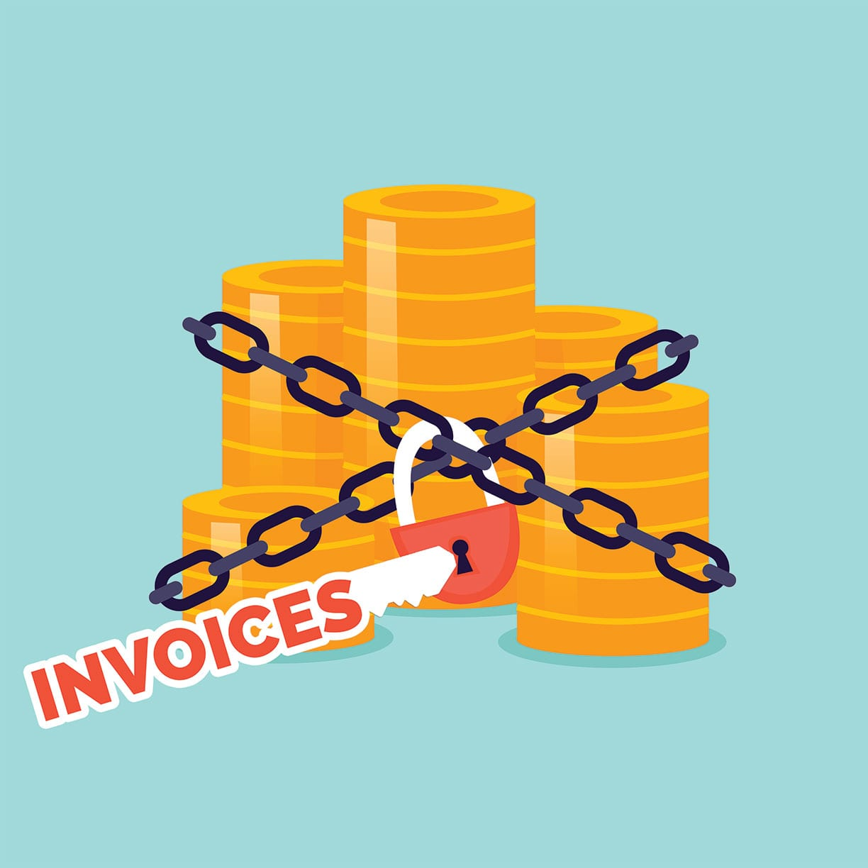 Cash Tied Up by Invoices