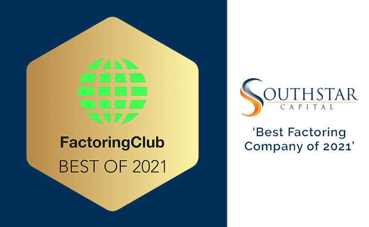 Best Factoring Company of 2021 SouthStar Capital